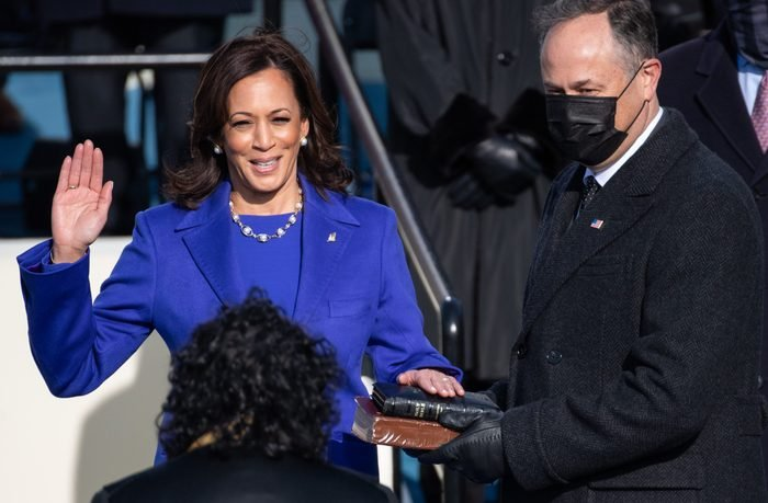Joe Biden Sworn In As 46th President Of The United States At U.S. Capitol Inauguration Ceremony