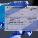 Why You Shouldn't Share Photos of Your COVID-19 Vaccine Card
