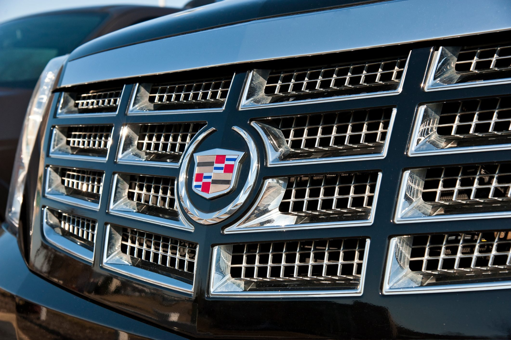 Front Grille of Cadillac Escalade