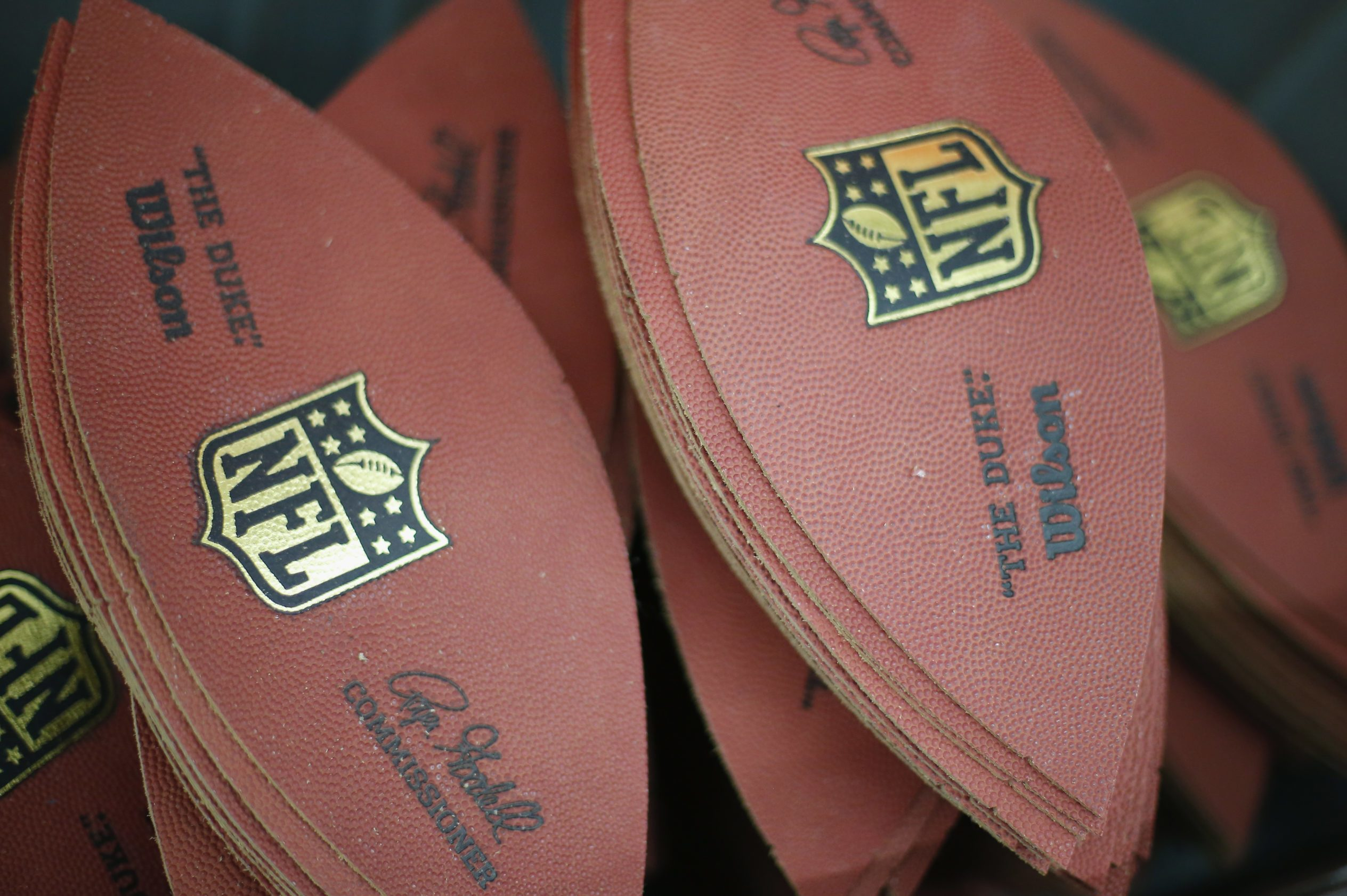 Official Super Bowl XLVIII Footballs Manufactured at Wilson Football Factory