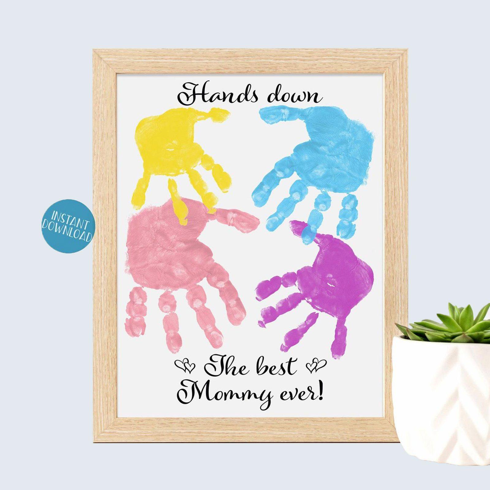 Handprint Etsy