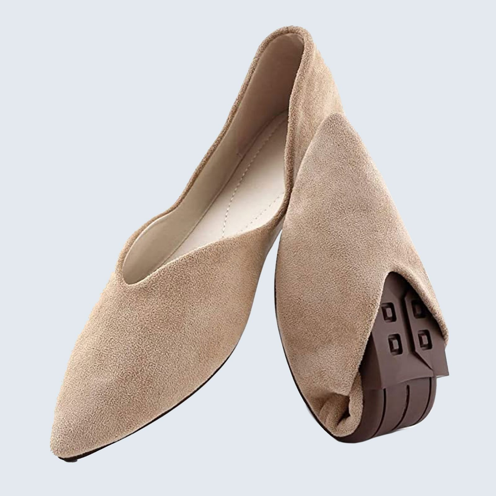 For the stylish mom who's always on the go: Cundo Ballet Flats