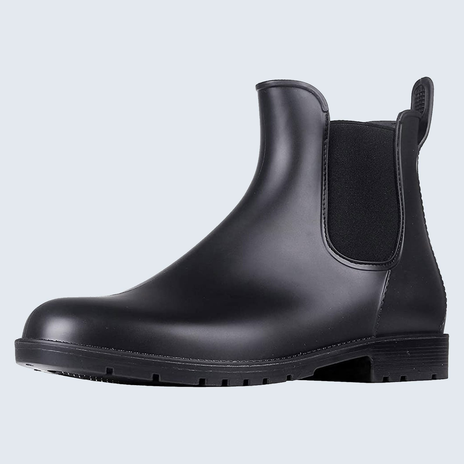 For the practical fashionista: Asgard Chelsea Ankle Rain Boots