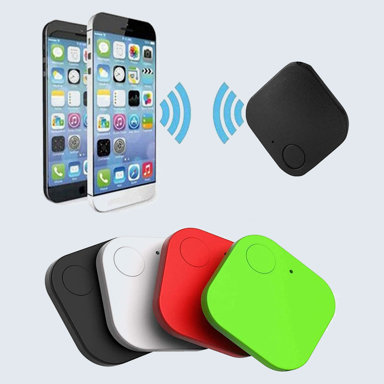For the forgetful mother: YASHB 4-Pack Bluetooth Smart Tracker
