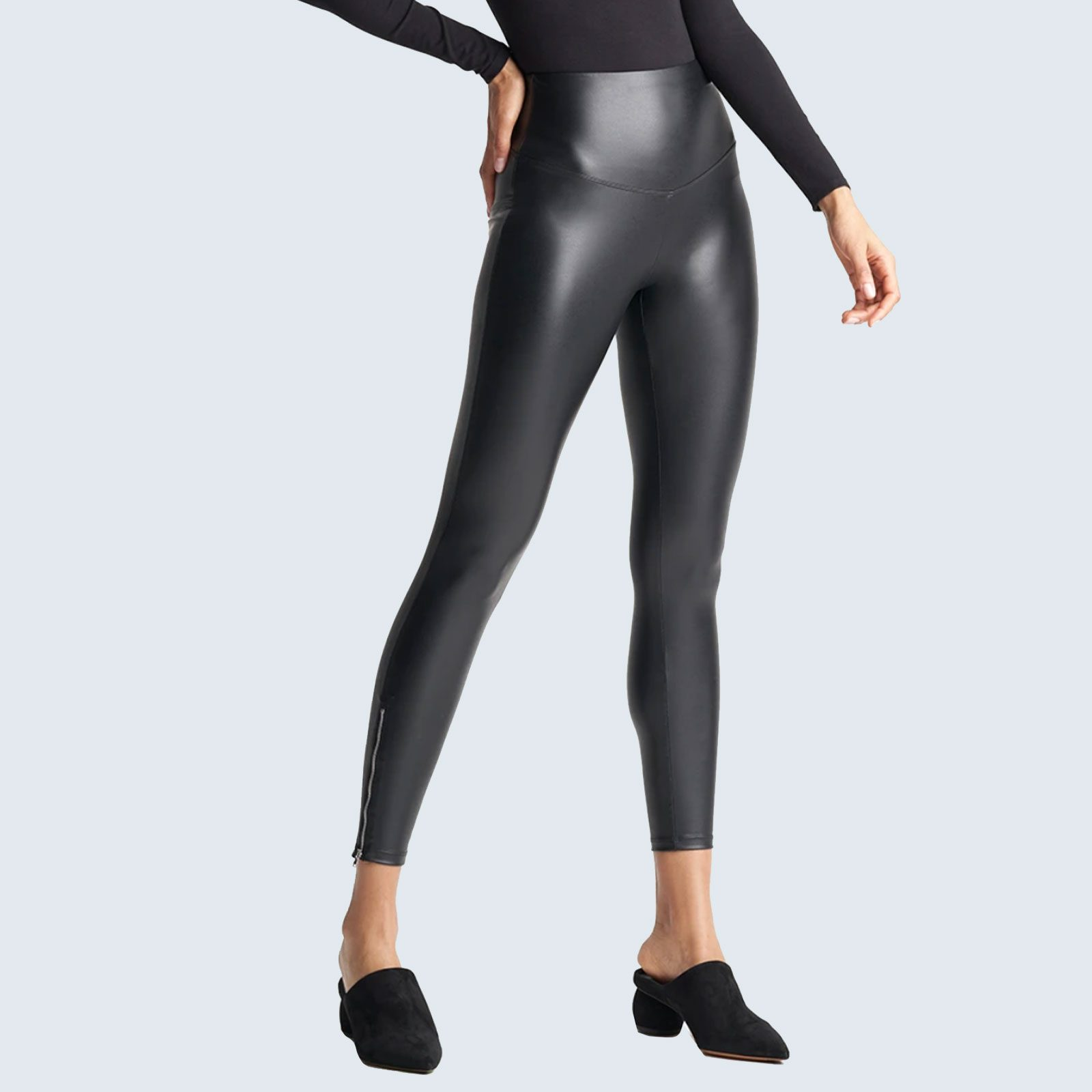 Best Butt-Lifting Leather Leggings