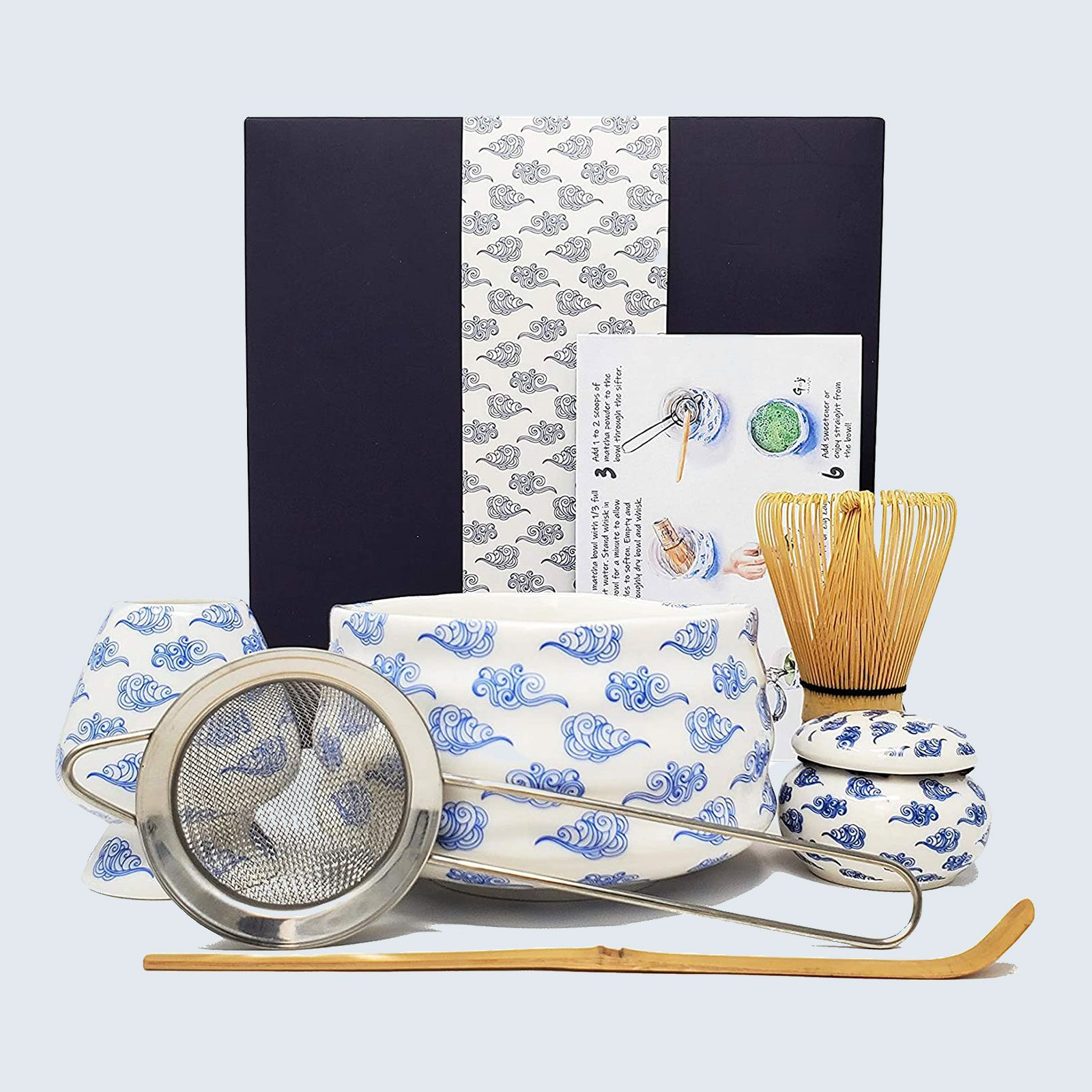 For the matcha-loving mama: Goji Lifestyle Matcha Whisk and Bowl Set