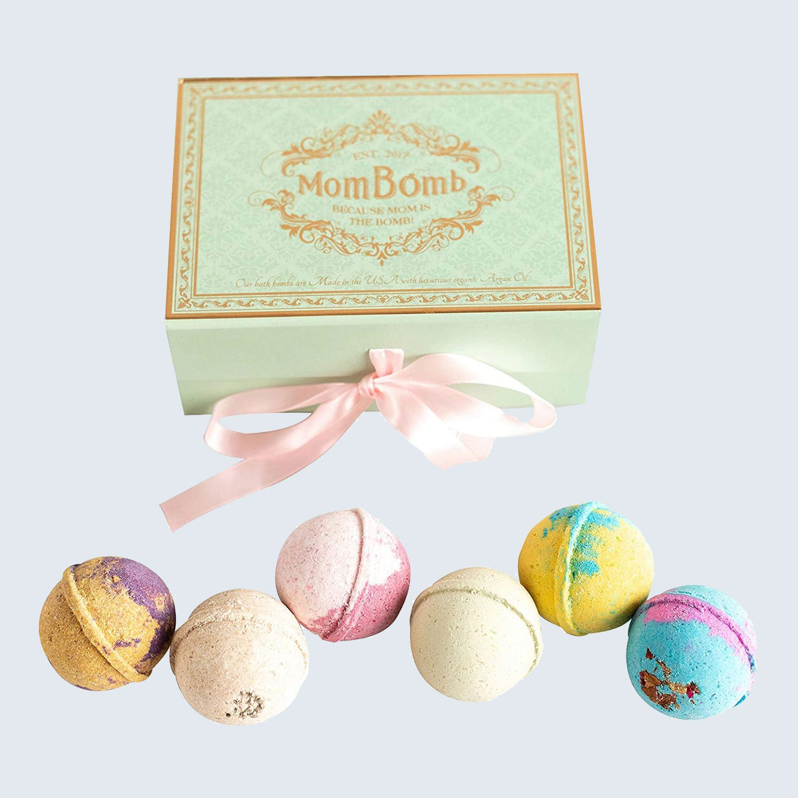 For the mom in need of self-care: Mom Bomb Ultra Luxury Bath Bombs