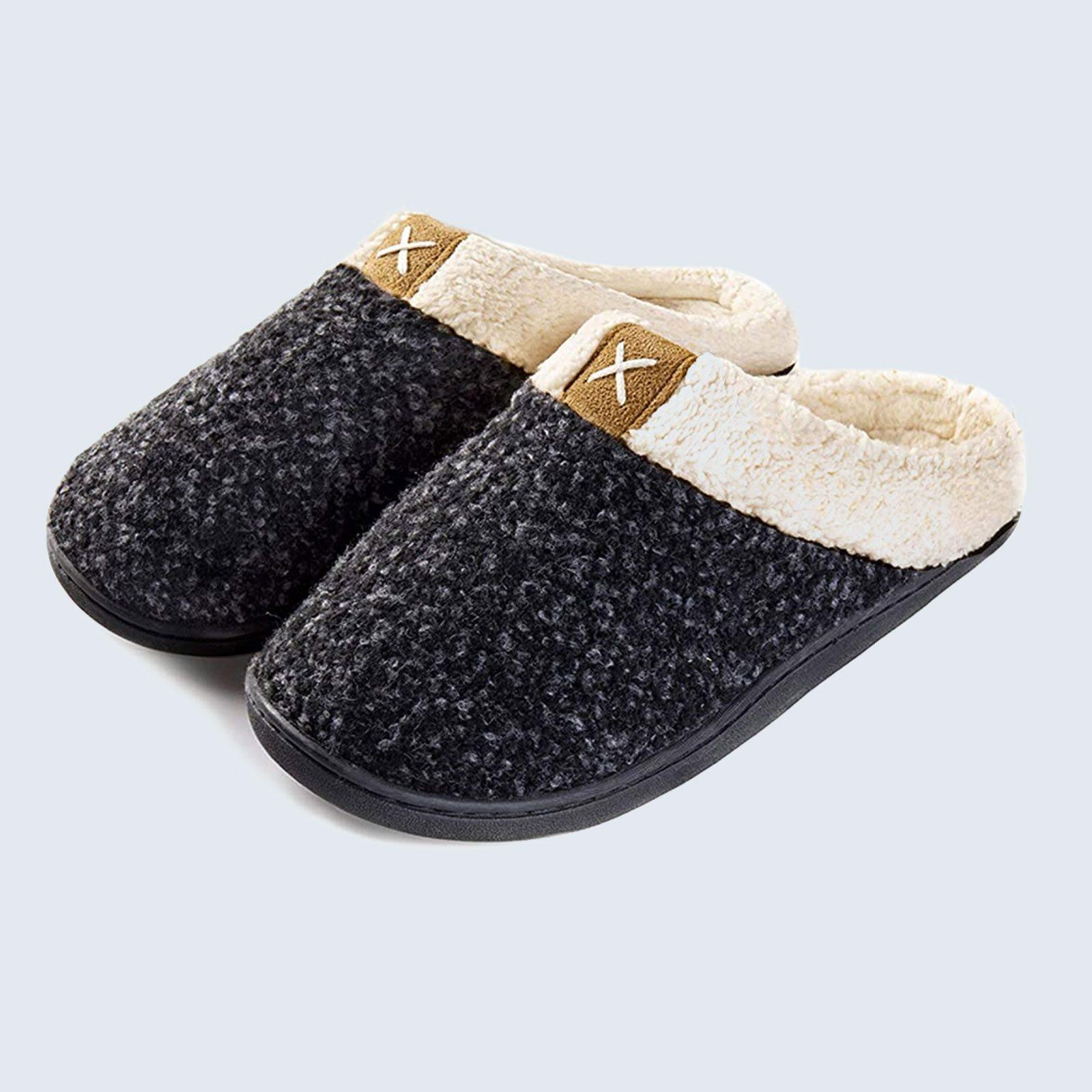 Best budget-friendly slippers: UltraIdeas Women's Cozy Memory Foam Slipper