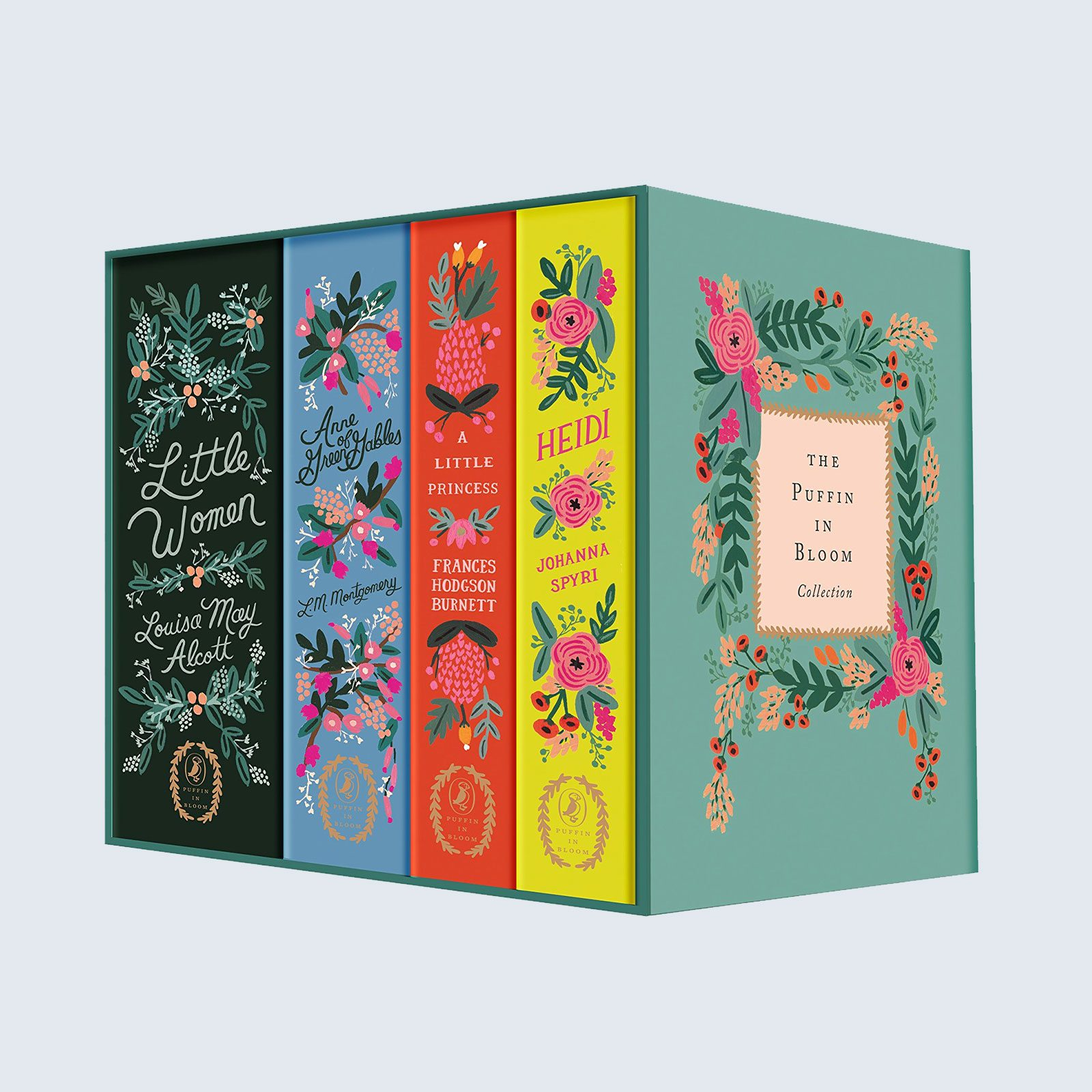 For the book nerd: The Puffin in Bloom Collection