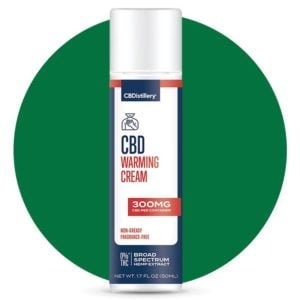 Cbdistillery Broad Spectrum Cbd Warming Cream