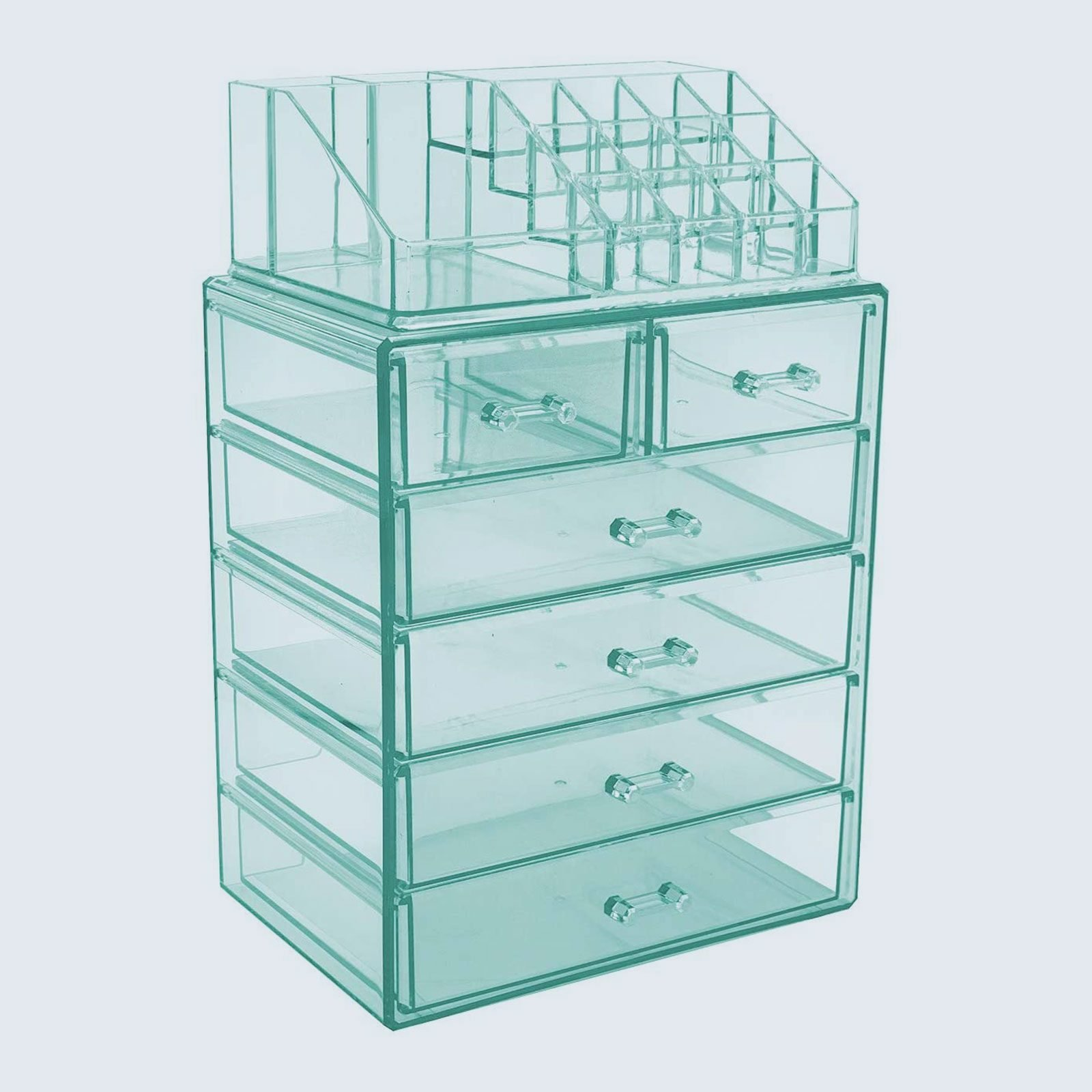 For messy-prone mamas: Sorbus Cosmetic Makeup And Jewelry Storage Display
