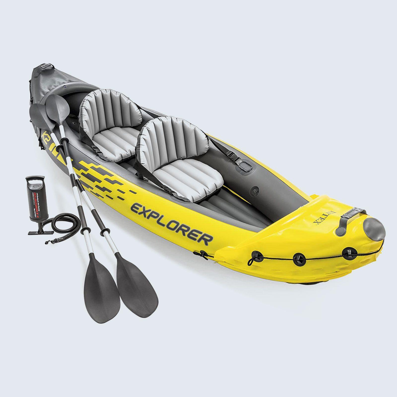 For the outdoor adventurer: Intex Explorer K2 Inflatable Kayak