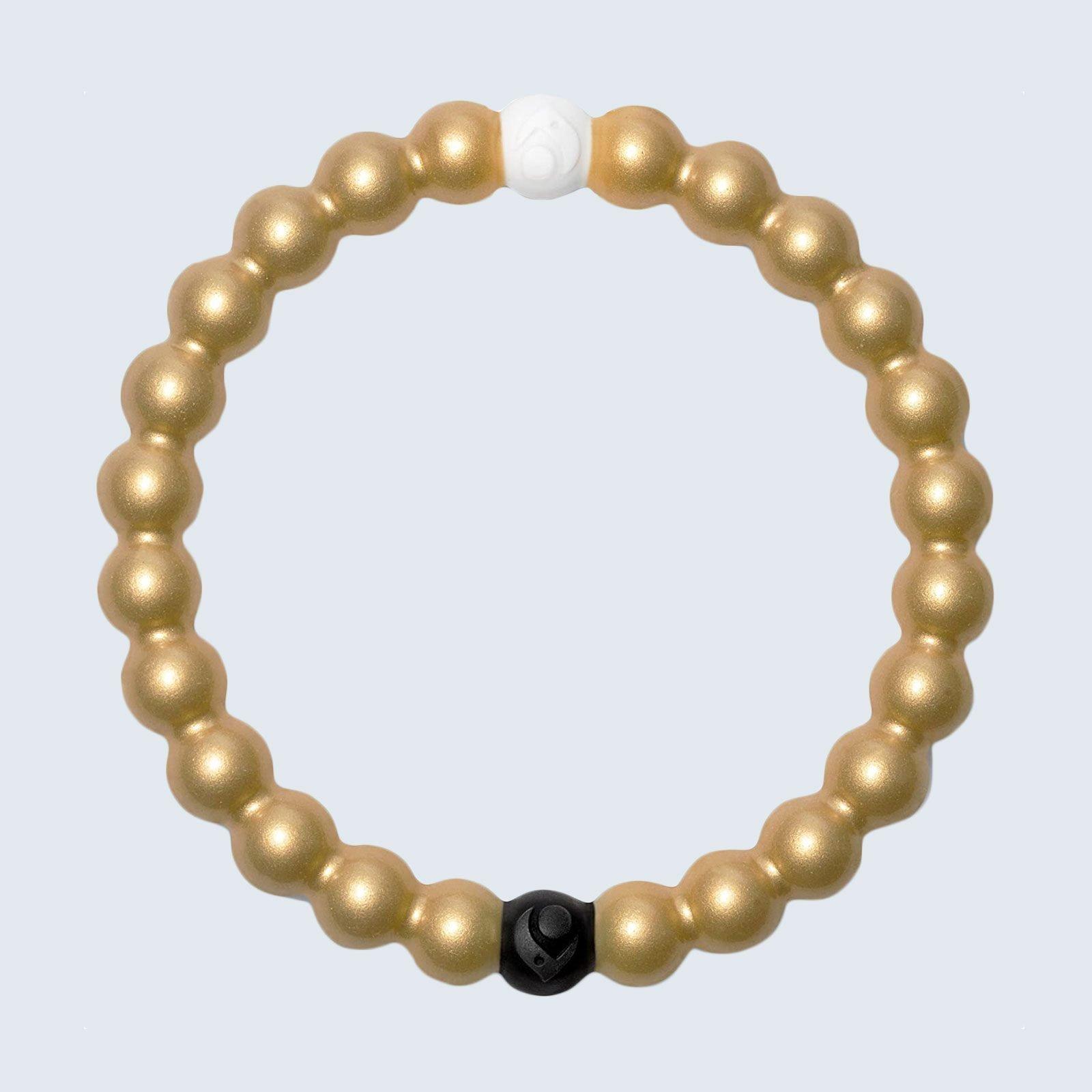 For the charity-minded mama: Lokai Metallic Bracelet