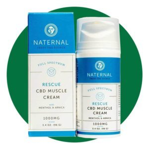 Naternal Rescue Cbd Muscle Cream