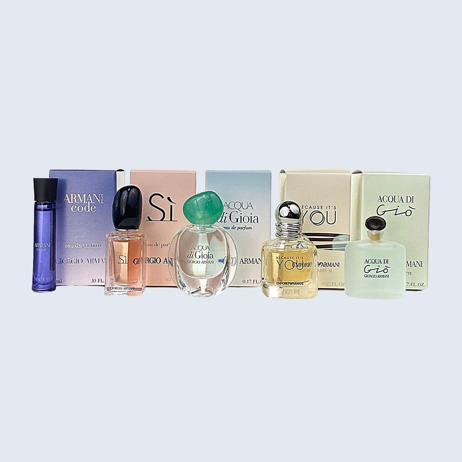 For the indecisive fragrance fan: Giorgio Armani Acqua Di Gio 5-Piece Gift Set