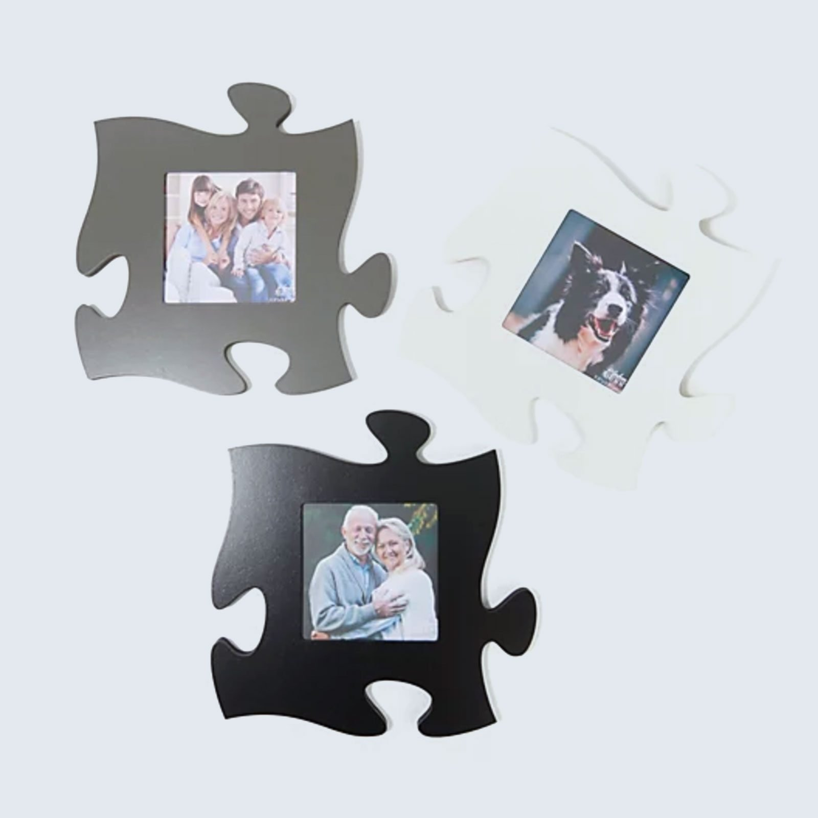 For photo collectors: P. Graham Dunn Blank Large Wall Decor Puzzle Pieces