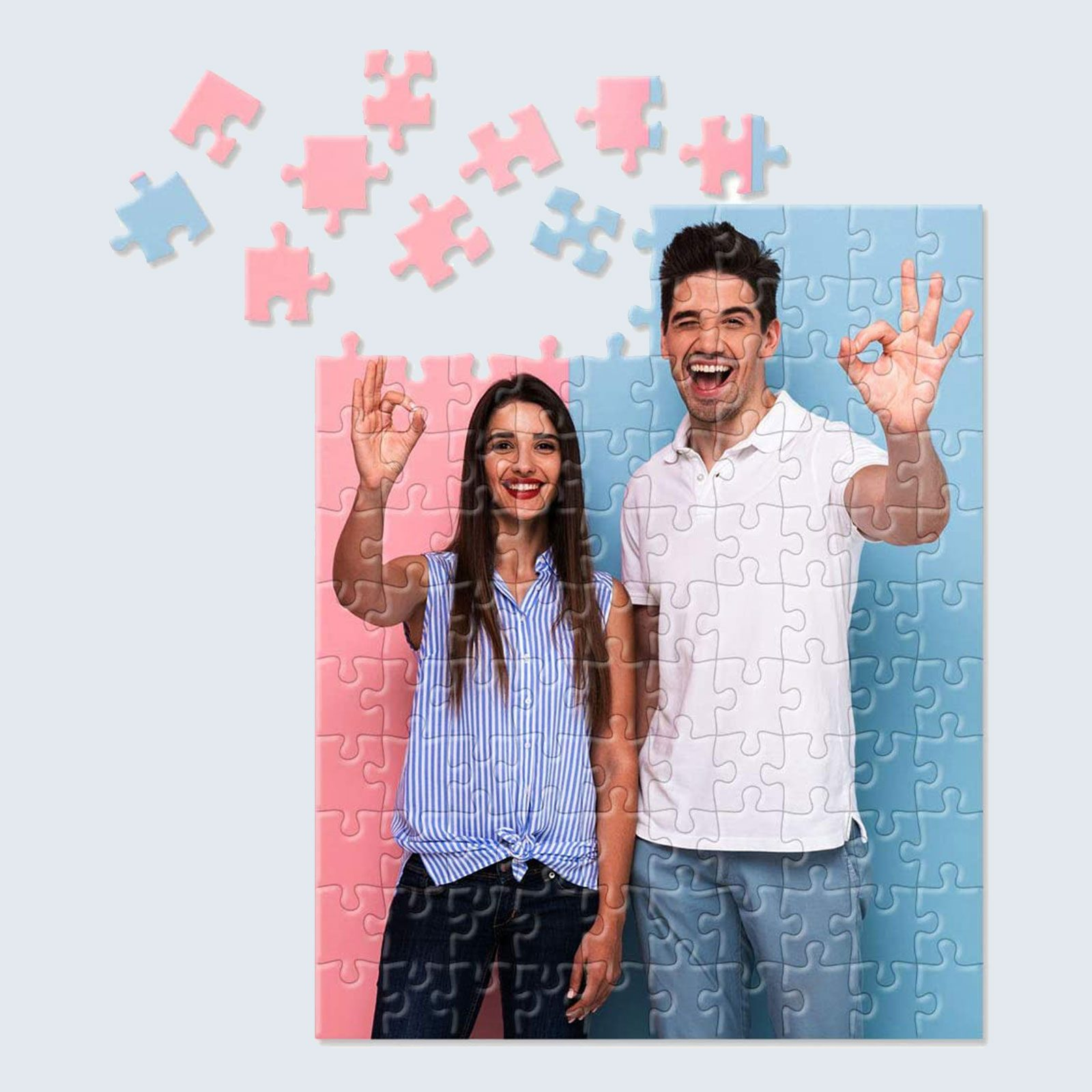 For the puzzle lover: Custom Personalized Jigsaw Puzzle
