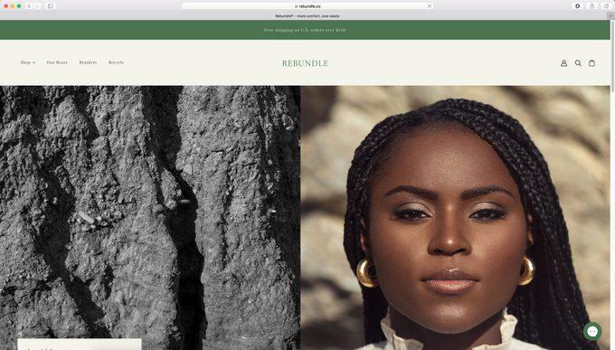 Rebundle Co home page