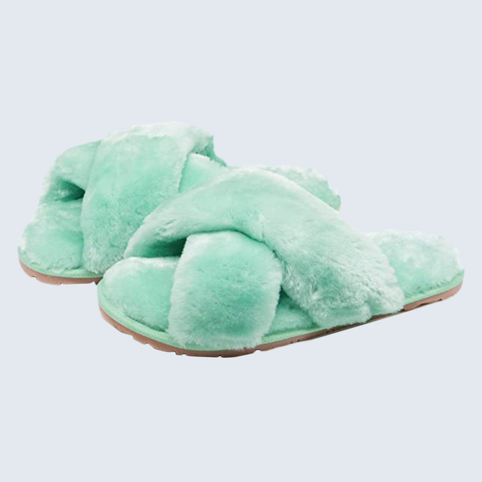 For your perfect sole-mate: Crazy Lady Fluffy Slippers