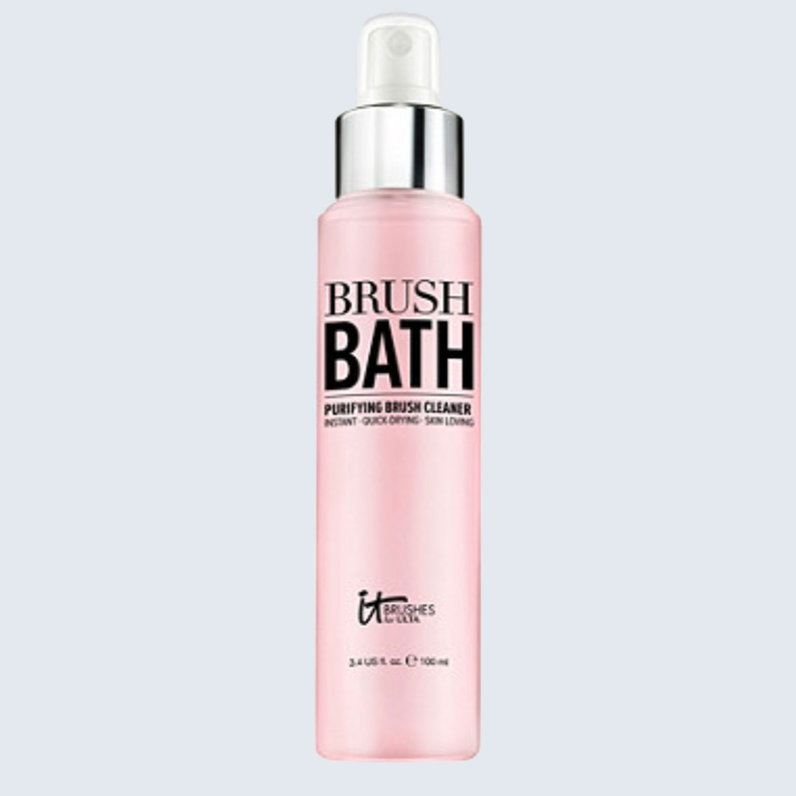 Best-smelling makeup brush cleaner: IT Brushes Brush Bath Purifying Makeup Cleaner