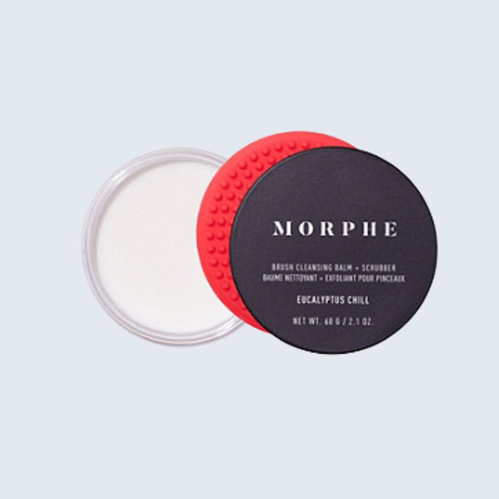 Best cleansing duo: Morphe Brush Cleansing Balm + Scrubber