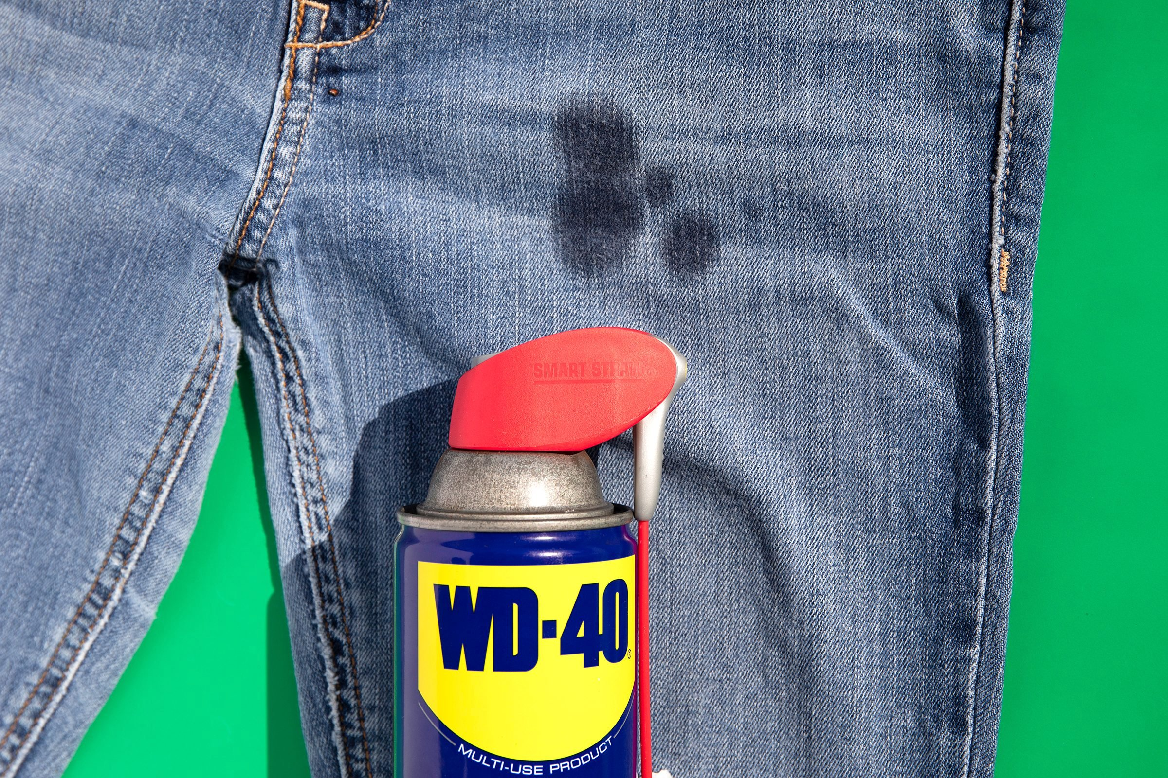 how to clean grease stains