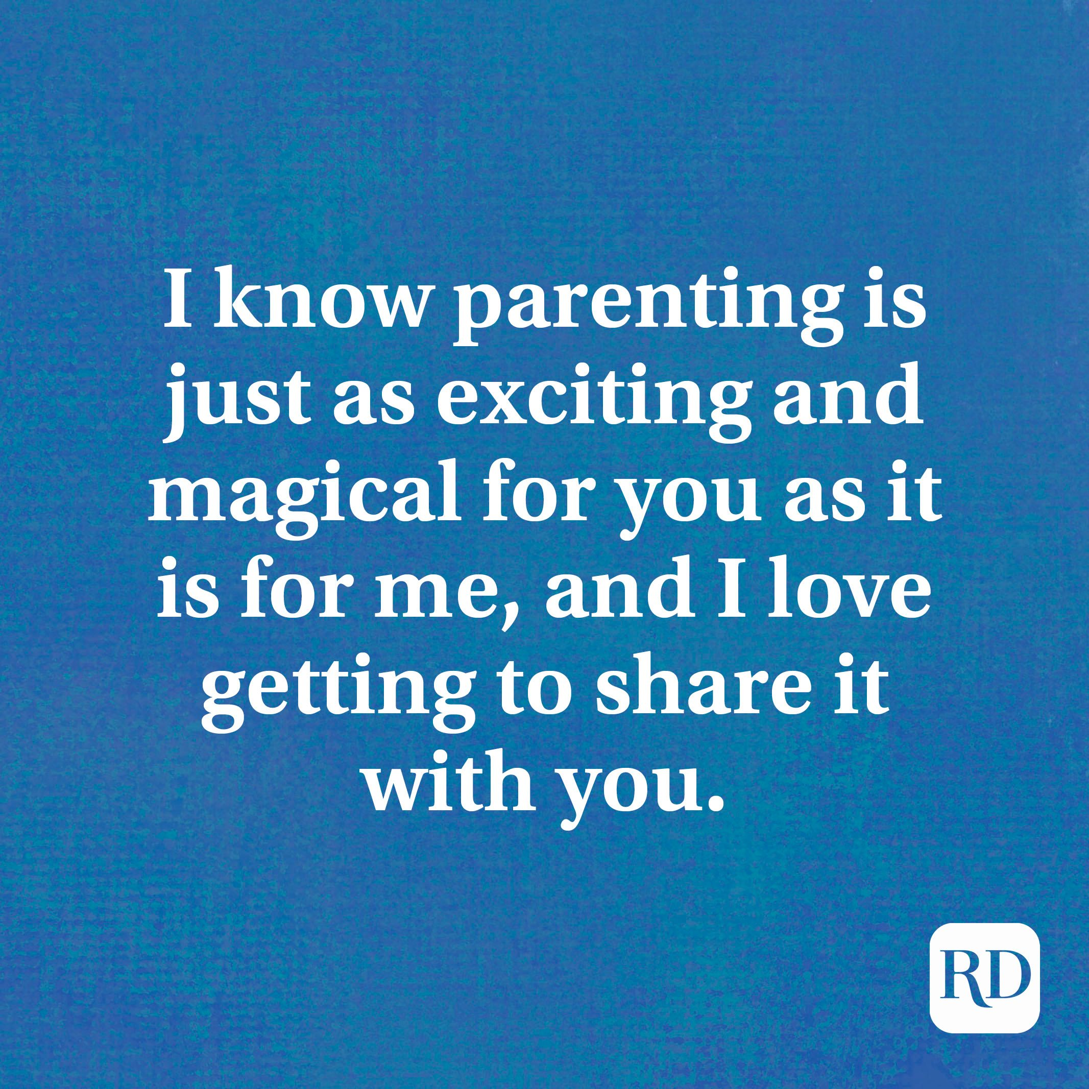 I know parenting is just as exciting and magical for you as it is for me, and I love getting to share it with you.