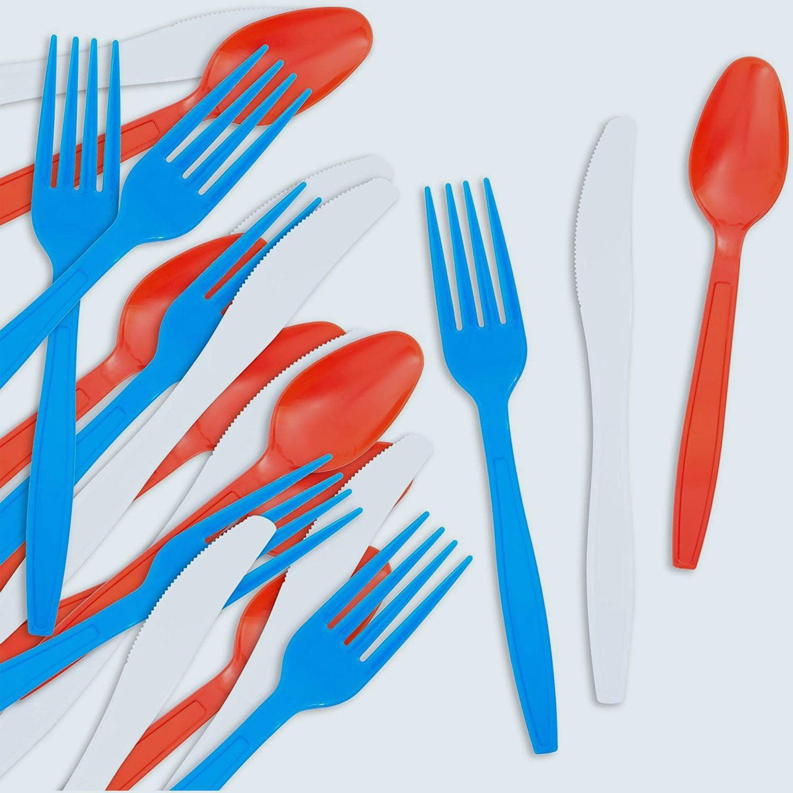 Patriotic Plastic Silverware