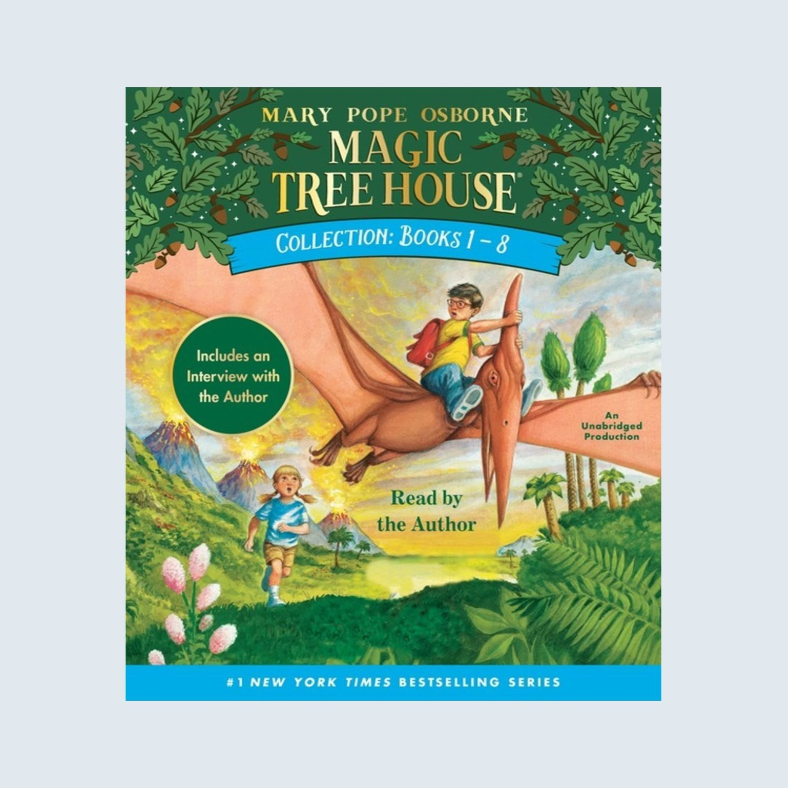 The Magic Tree House Collection, Books 1 - 8