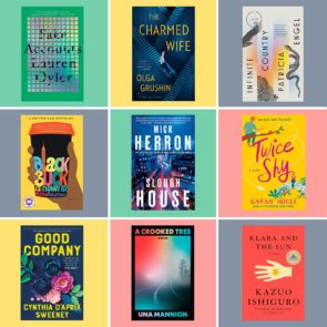 Collage of 9 book covers from this list