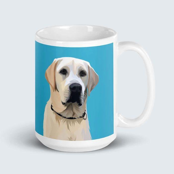 Custom Pet Portait Mug
