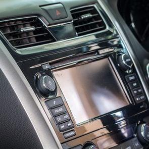 Control Panel Of Car
