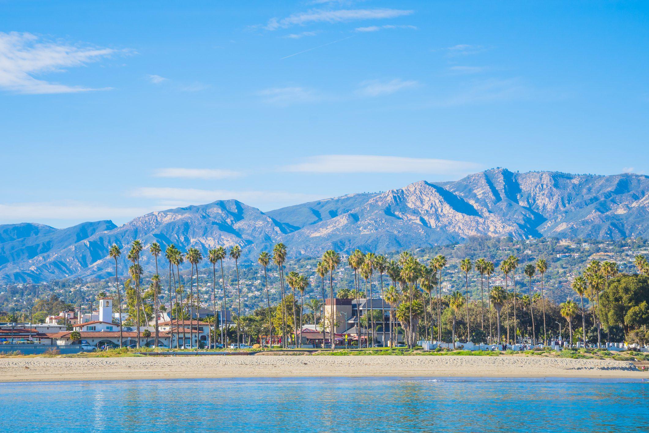 Mediterranean style of Santa Barbara, California
