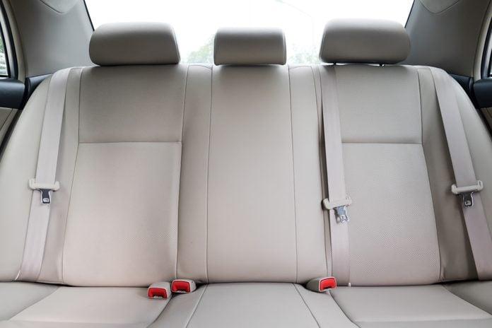 car back seat monitoring