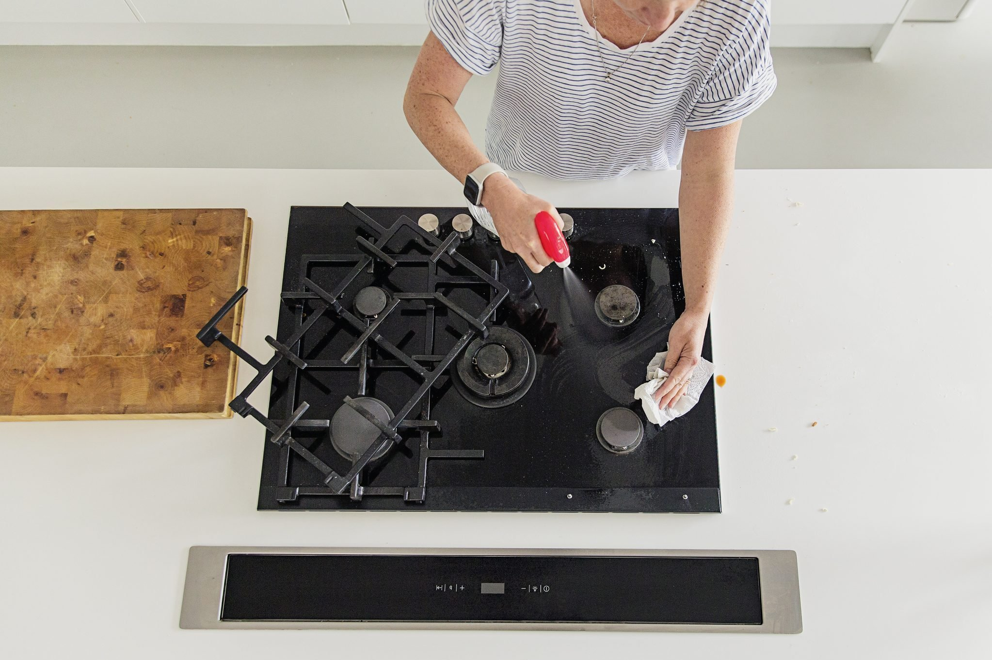 How To Clean Your Stove Top Goodbye Grease Grime