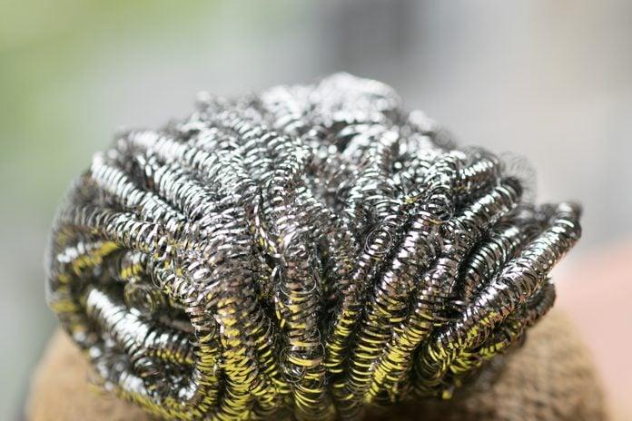 Steel wool wire or metal sponge