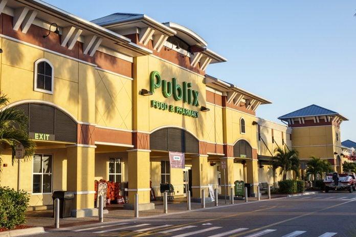 Florida, Fort Myers, Publix, supermarket Entrance