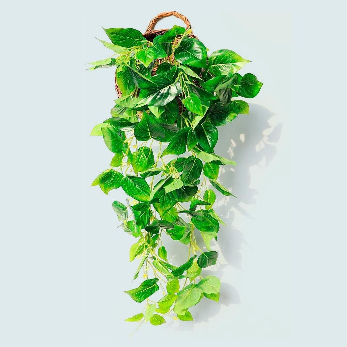 Justoyou Artificial Hanging Plants Ivy Vine