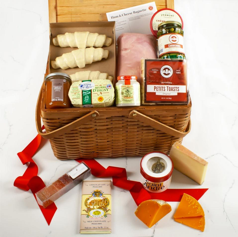 Martha Stewart French Picnic Gift Basket