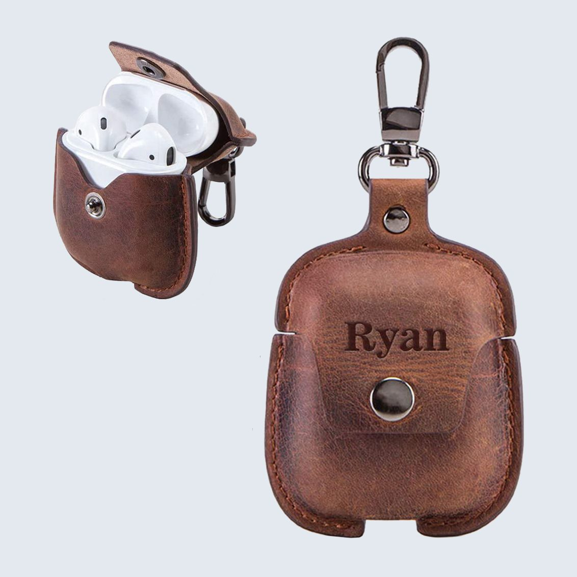 Leather AirPods case for father's day