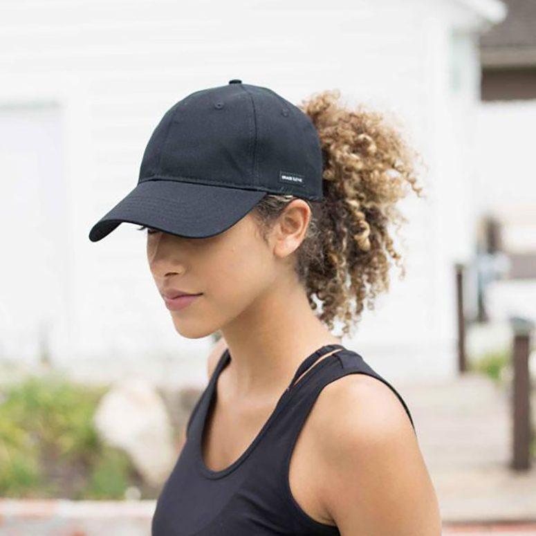Satin-Lined Baseball Hat from Grace Eleyae