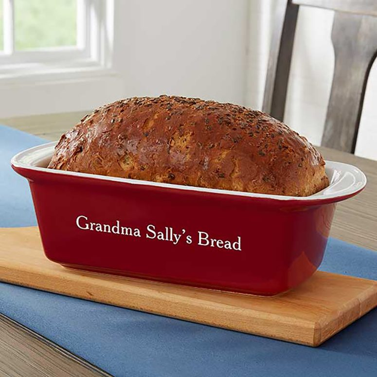 Personalized Classic Loaf Pan for mothers day