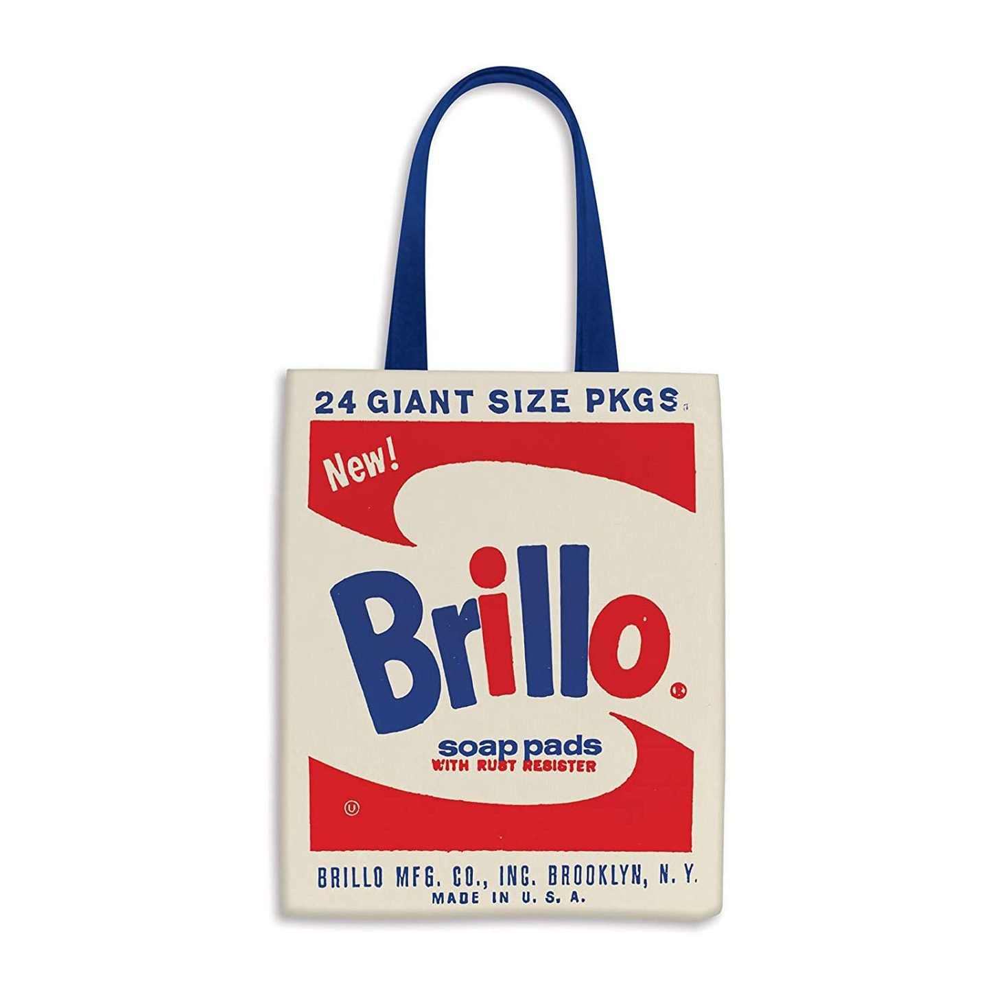 Andy Warhol Brillo Tote Bag from Galison