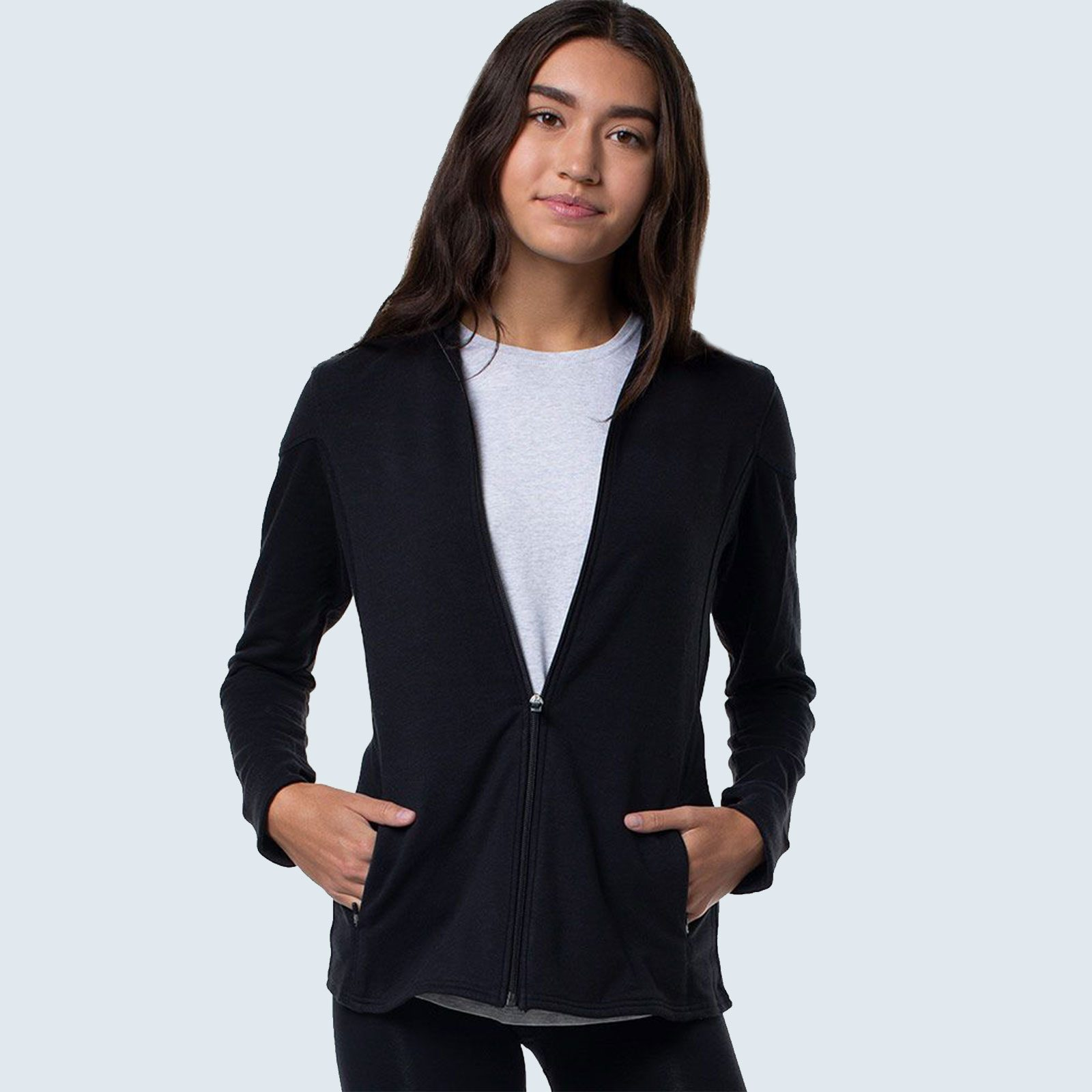 Best naturally cooling loungewear set: Cariloha Bamboo Jacket and Joggers