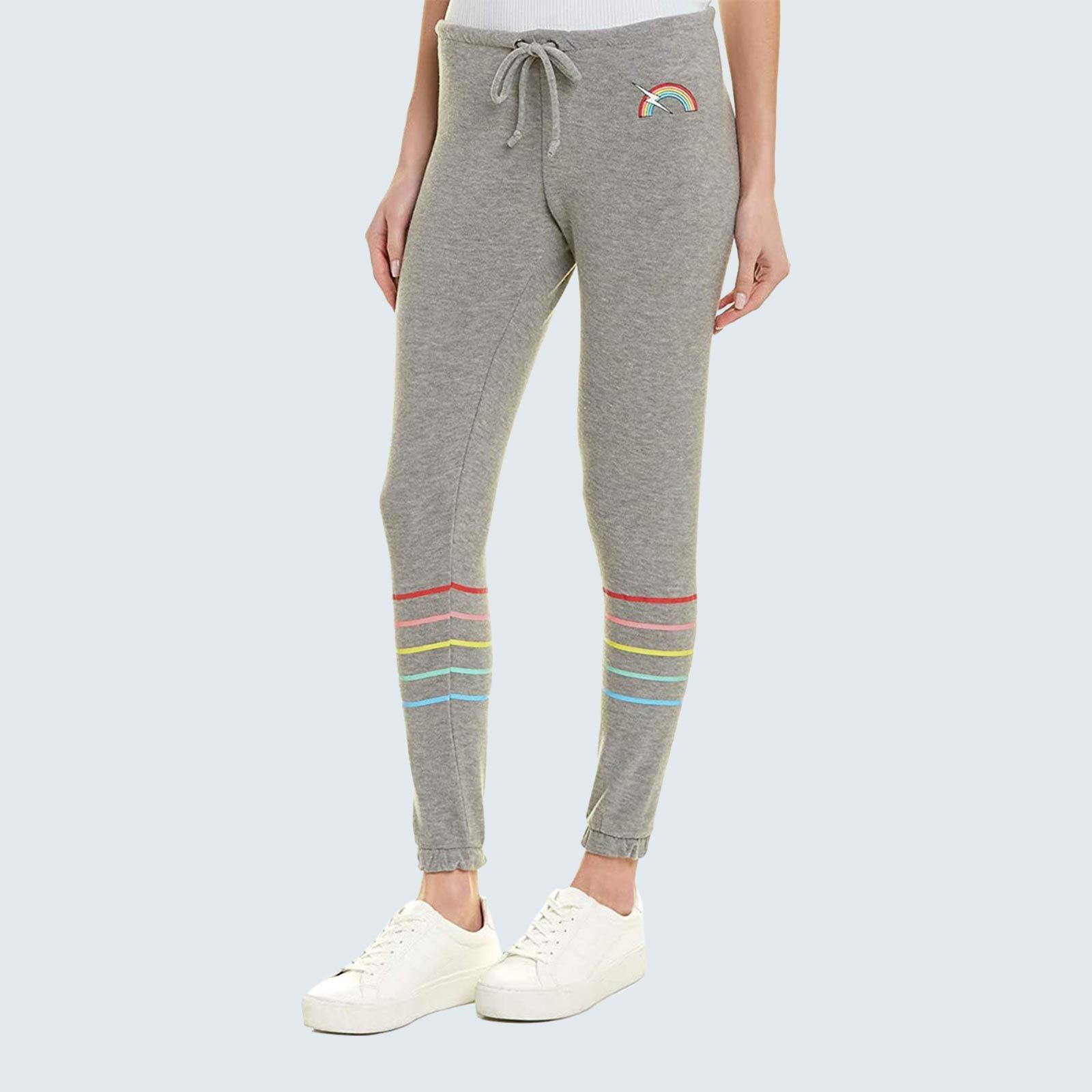 Best leggings for sleeping: Chaser Rainbow Bolt Lounge Pants
