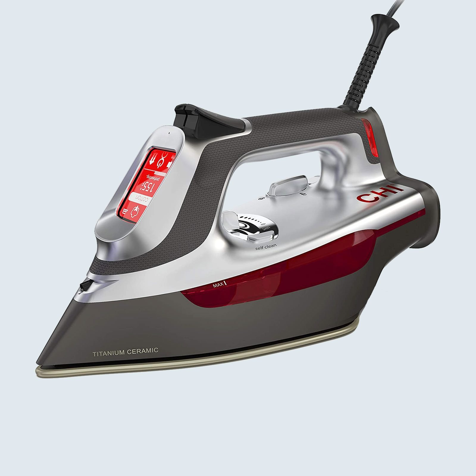CHI Steam Iron with Advanced Touchscreen