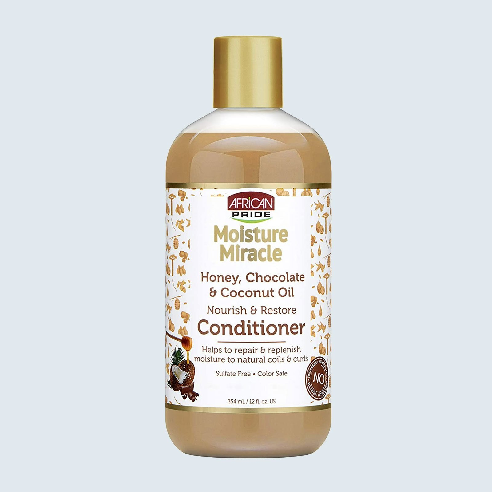 Best conditioner for kinky or coily hair: African Pride Moisture Miracle Honey, Chocolate & Coconut Oil Conditioner