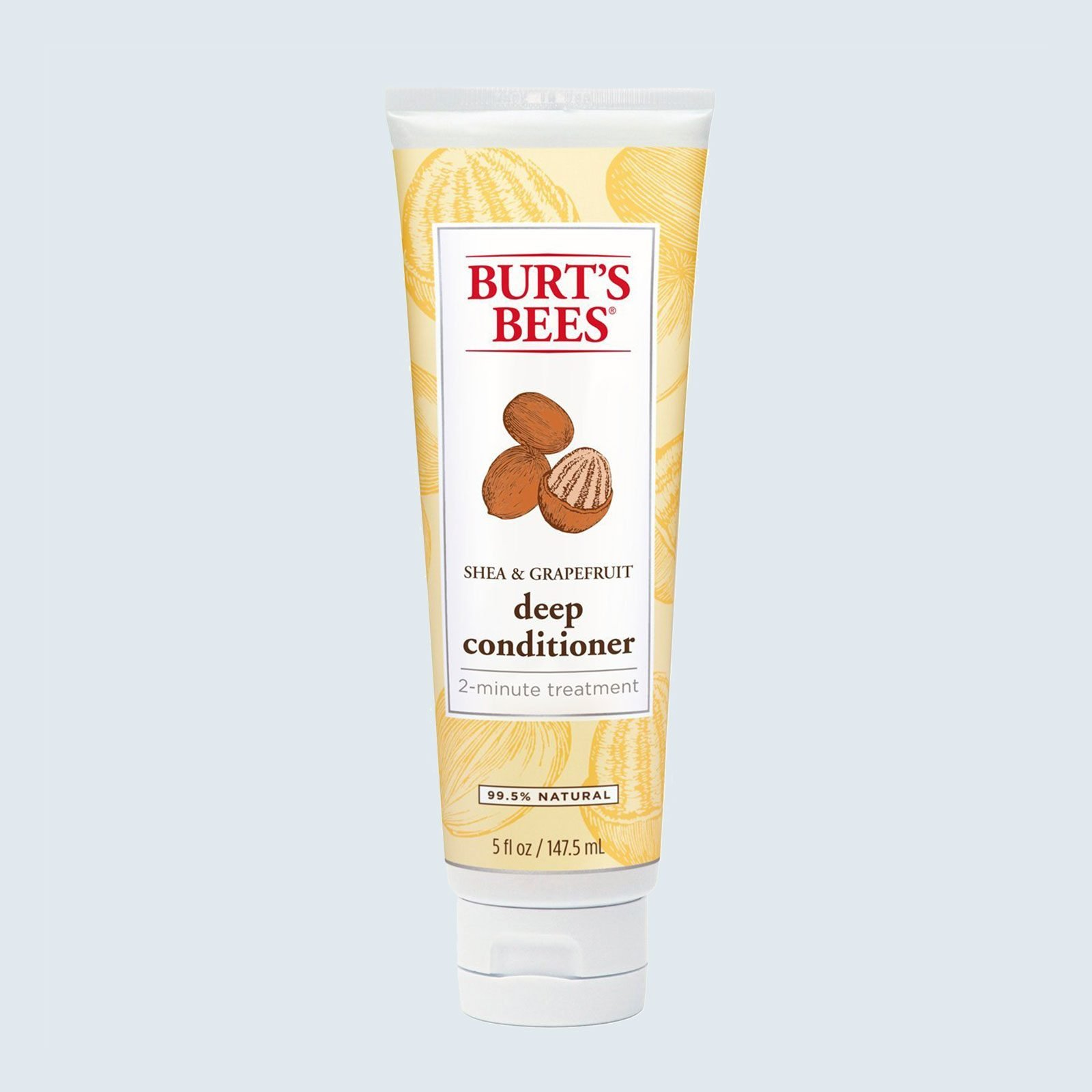 Best natural conditioner: Burt's Bees Shea and Grapefruit Deep Conditioner
