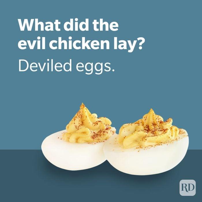 Dad Joke   Deviled Eggs With Deviled Eggs Joke