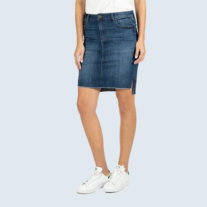 Connie Step Hem Skirt